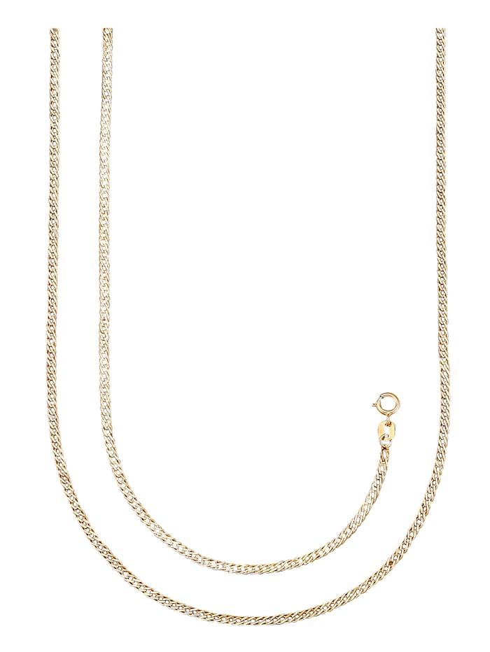 2-delige sieradenset, Geelgoudkleur
