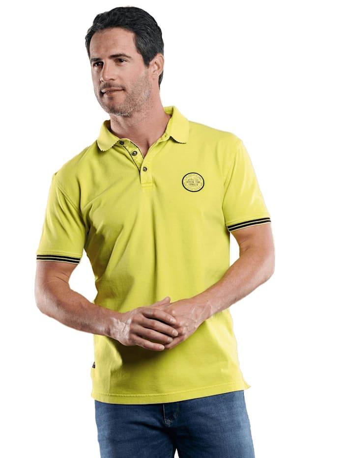 Engbers Sommerliches Poloshirt, Zitronengelb