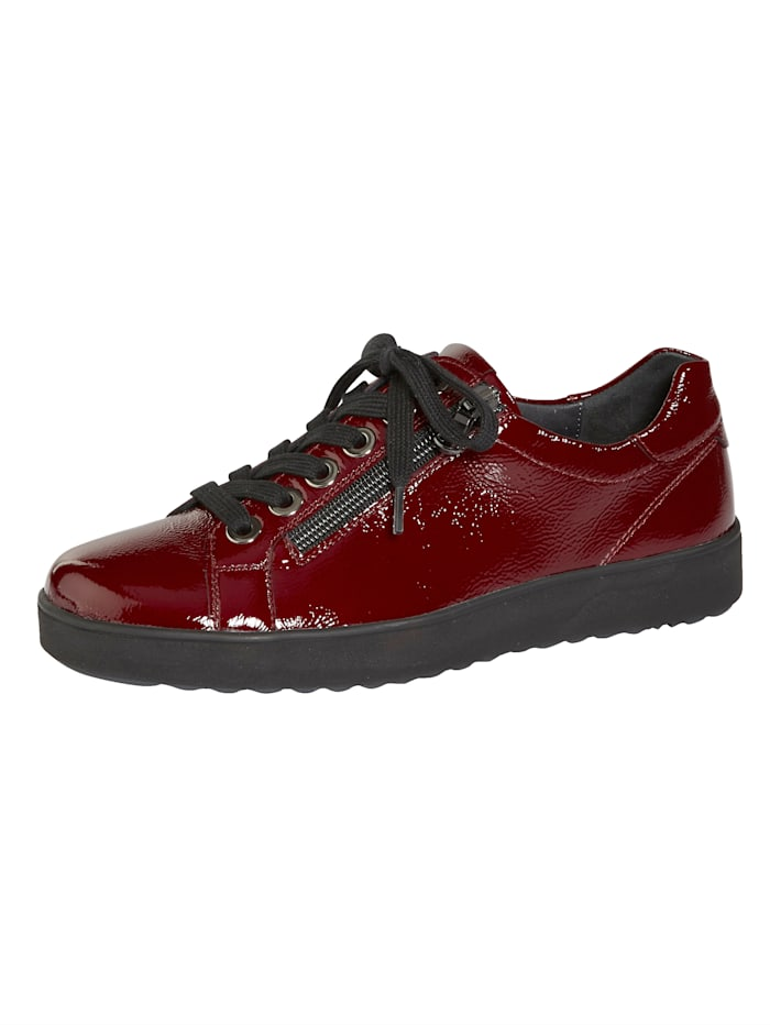 Semler Lace-up shoes with air cushion soles, Bordeaux