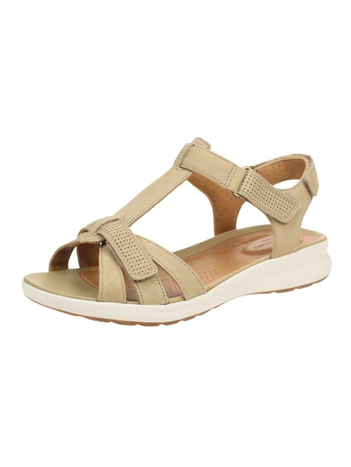 Clarks Sandalen/Sandaletten, sand