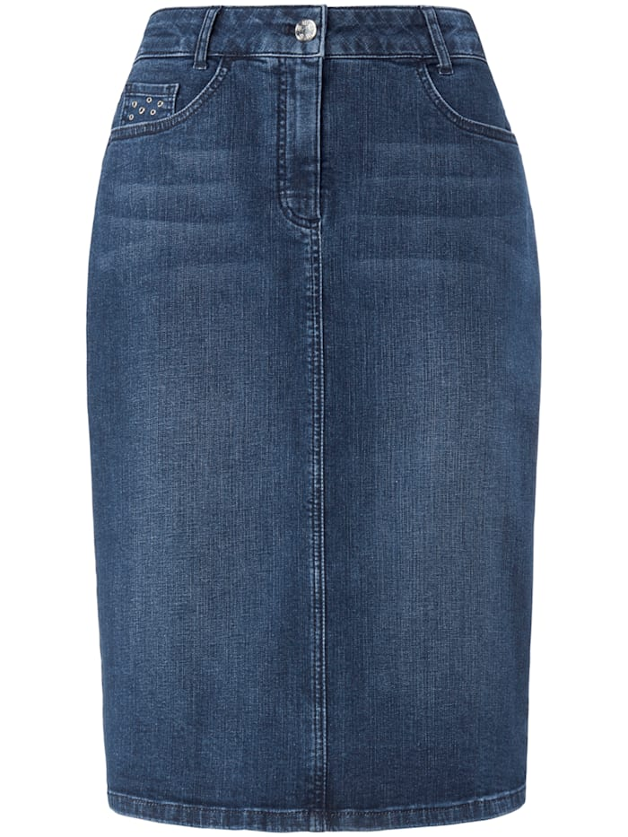 Basler Jeansrock mit 5-Pockets, blue denim