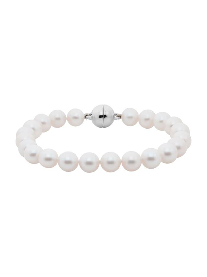 CHRIST Pearls CHRIST Pearls Damen-Armband 925er Silber Süßwasser, perlmutt
