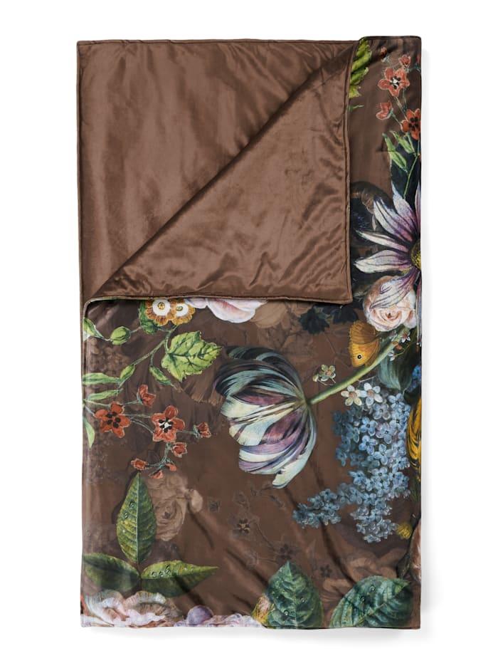 Essenza Plaid 'Giselle', Chocolate