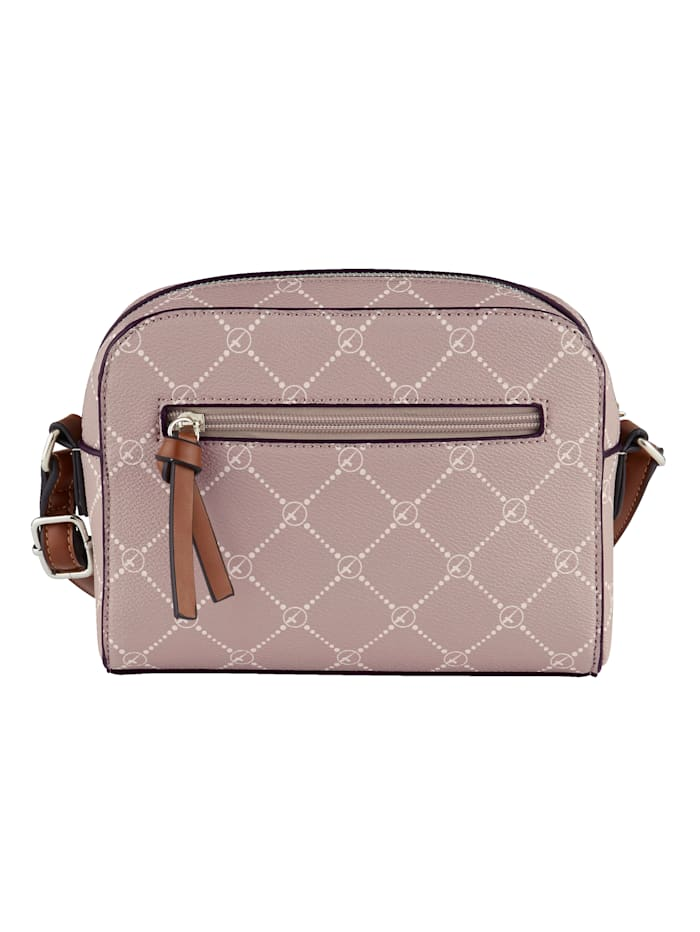 Shoulder bag with a beautiful print