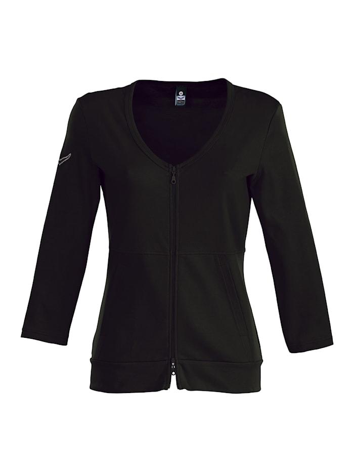 Damen Jacke aus Baumwolle/Elastan
