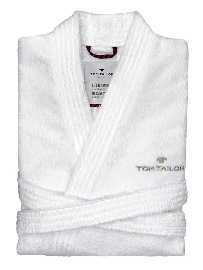 Tom Tailor Peignoir kimono Catania, blanc