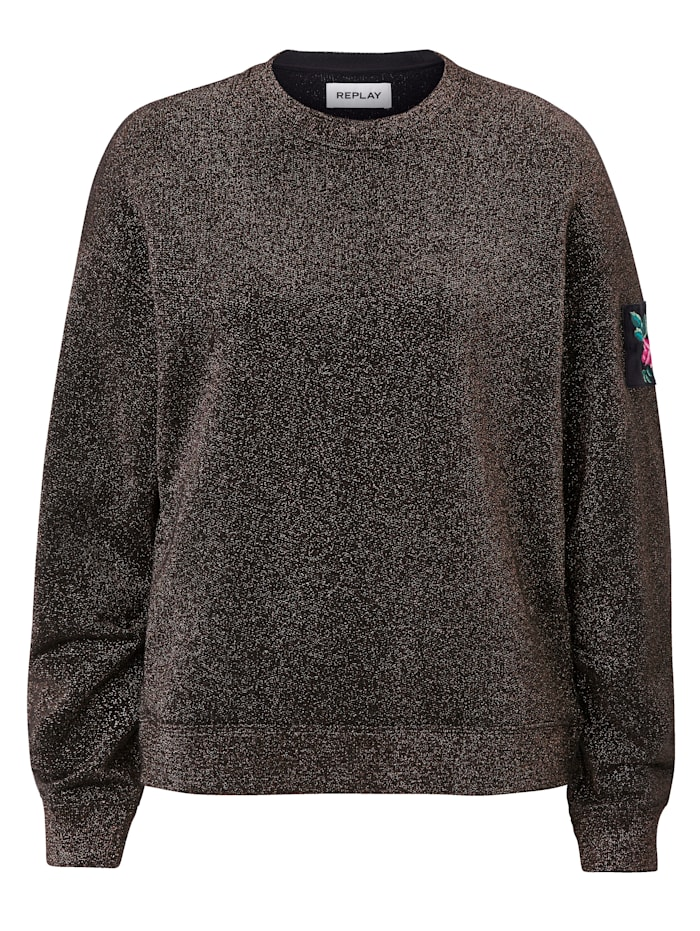 REPLAY Sweater, Grün