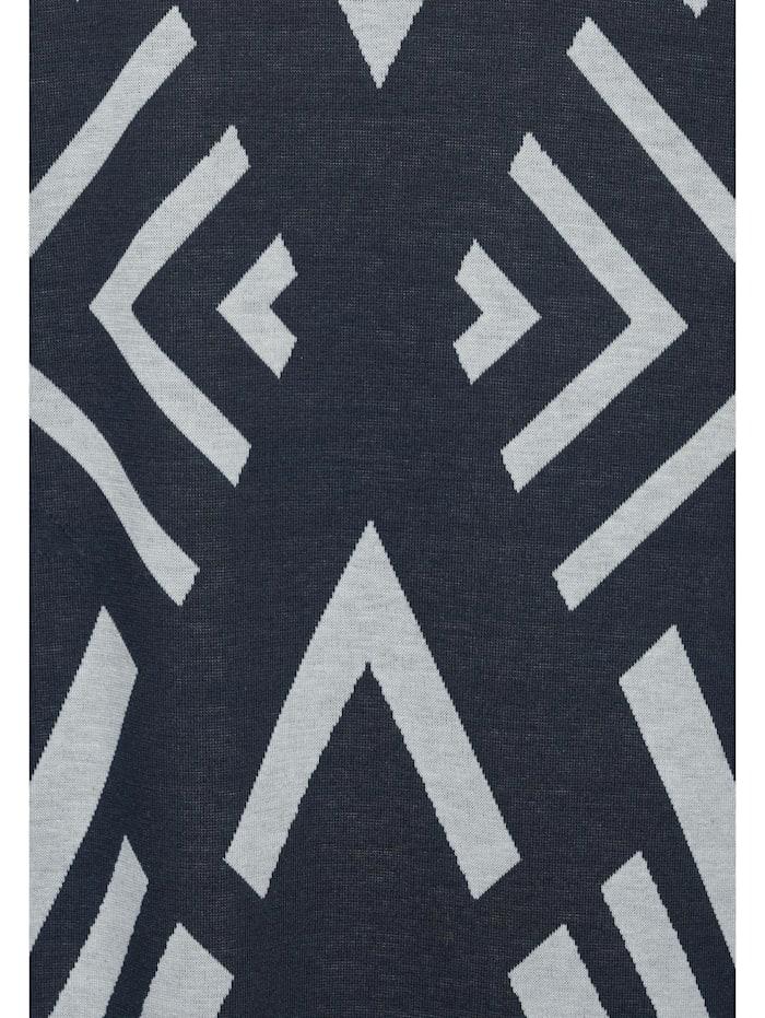 Midi-Kleid mit Ikat Muster