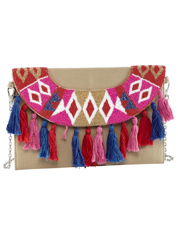 Cute Couture Tasche, braun/rosa