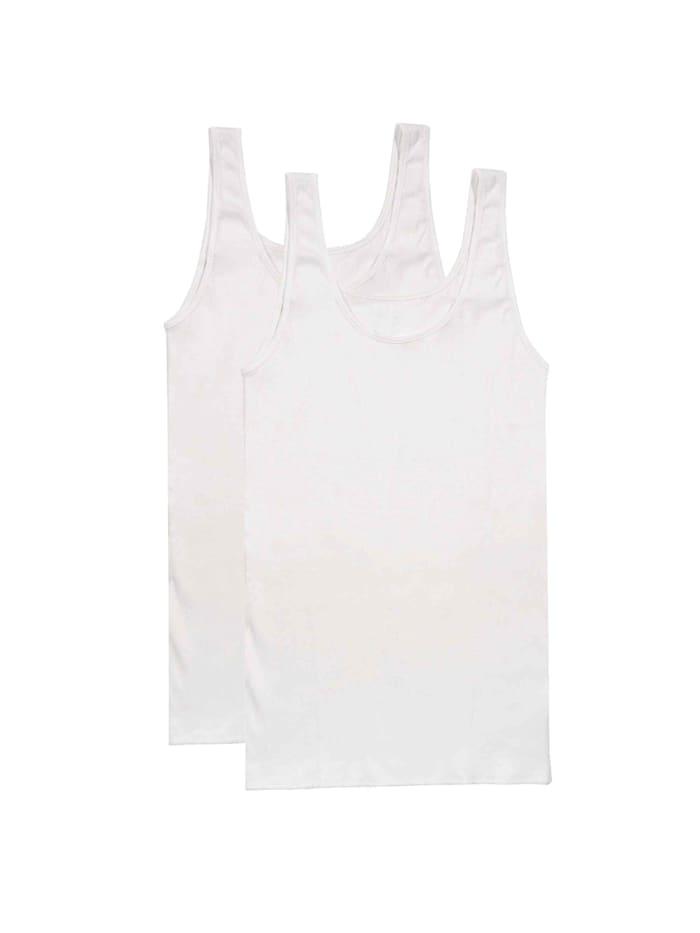 Top ohne Arm, 2er Pack Bio-Baumwolle