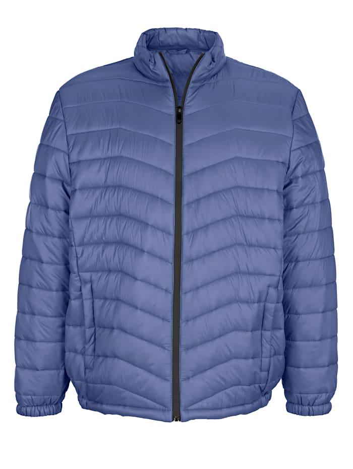Gewatteerde jas met getapete rits
