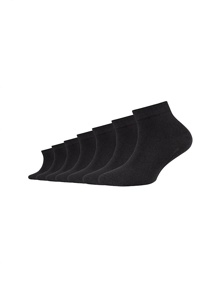 Camano Kindersocken ca-soft mit weichem Komfortbund, black