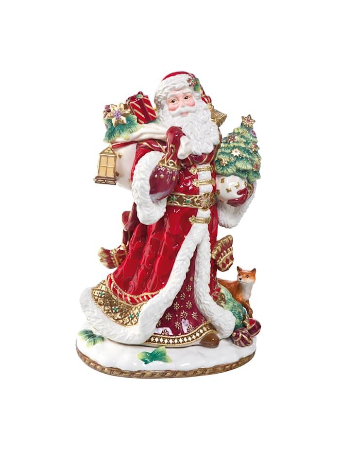 Fitz&Floyd Fitz&Floyd Figur Santa mit Geschenken, Bunt