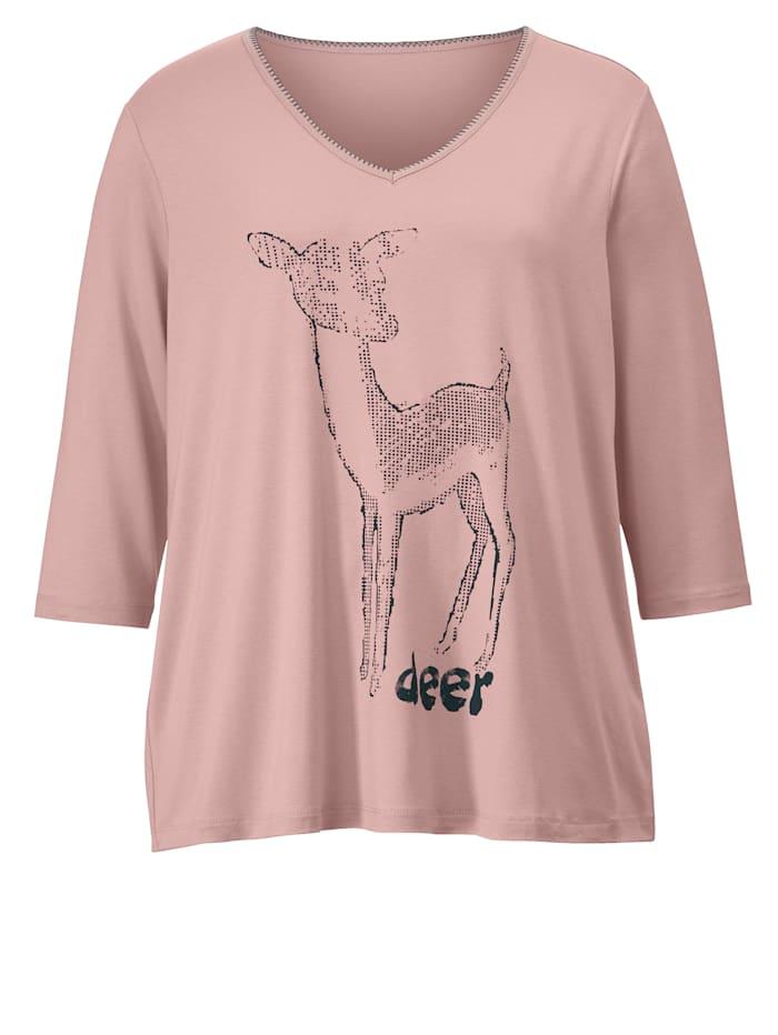 Tričko s potlačou srnčeka