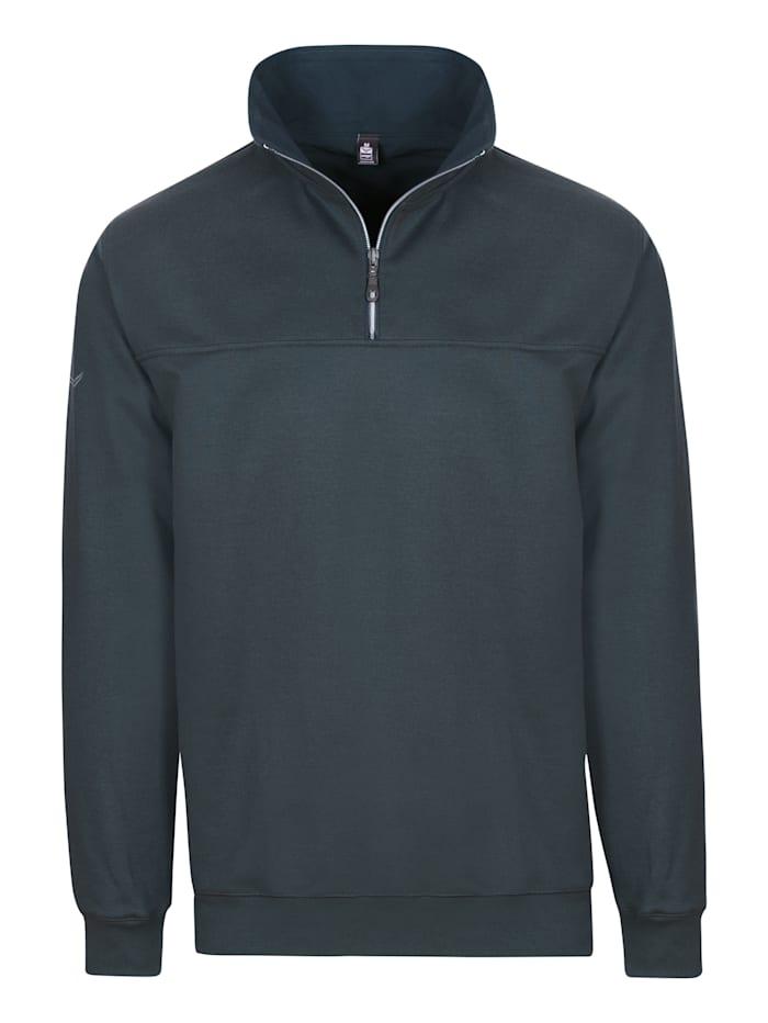 Herren Sweatshirt mit Reißverschluss