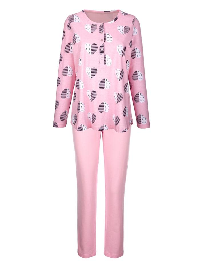 Pyjamas i 2-pk i økologisk bomull