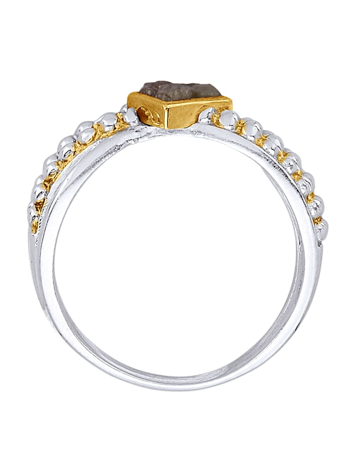Damenring mit Rohdiamant