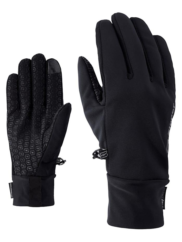 Ziener IVIDURO TOUCH glove multisport, Black