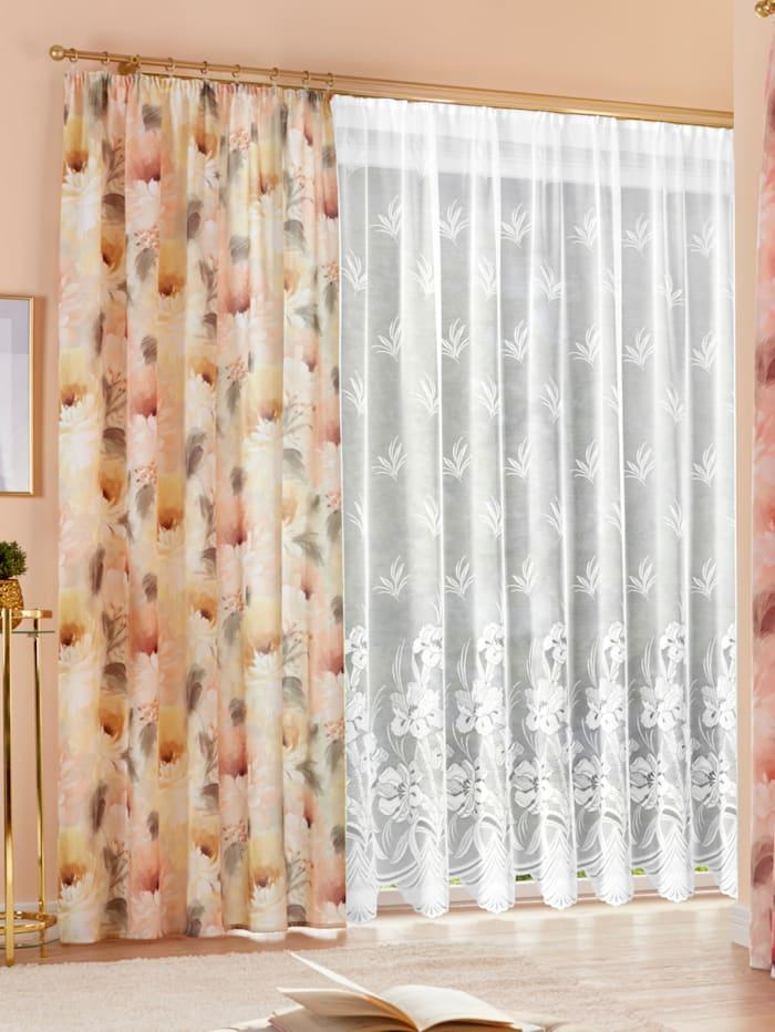 Home Wohnideen Gordijn Iris, Wit