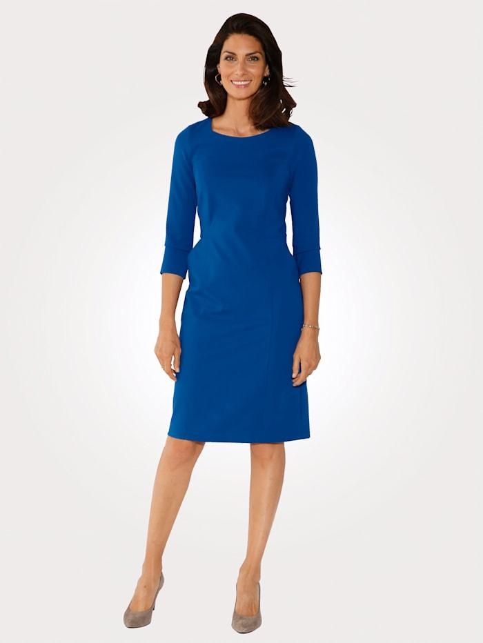 MONA Kleid aus Heavy Jersey, Royalblau