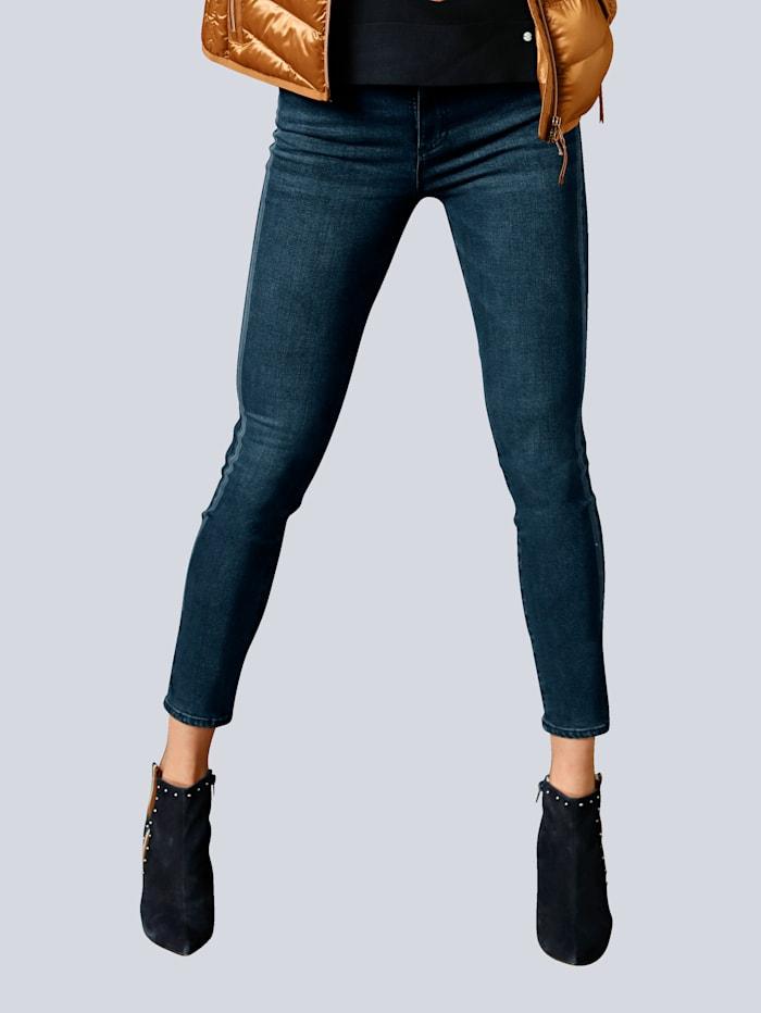 BRAX Jeans 'Shakira S' mit Sternenstick am Saum, Blau