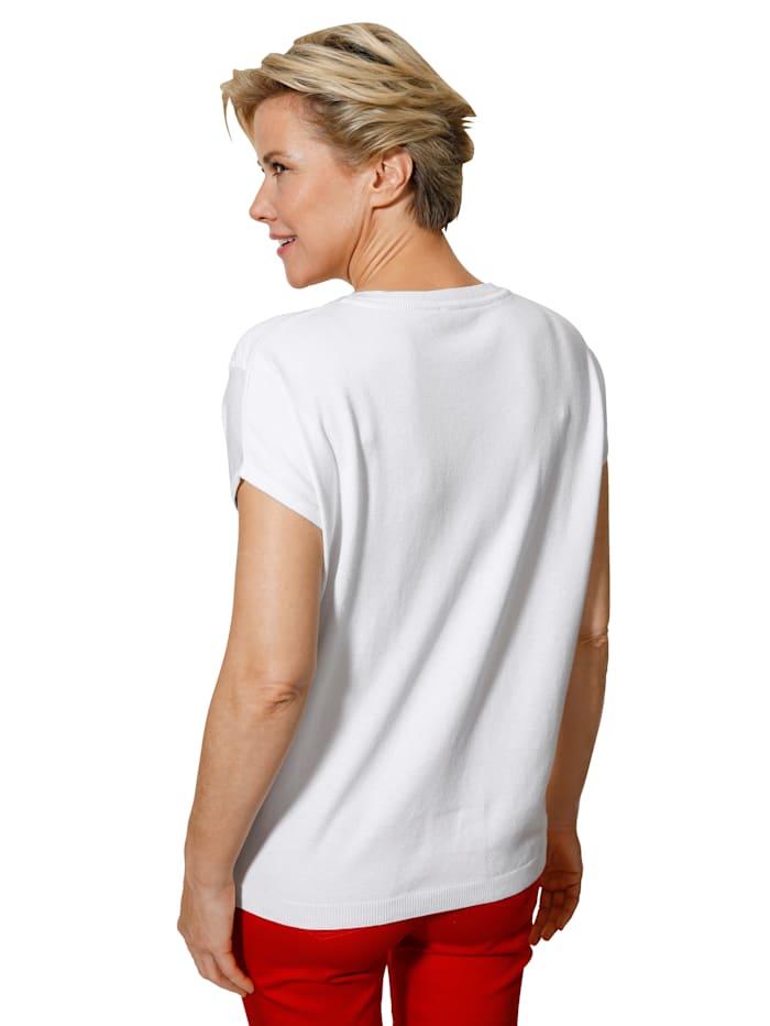 Pullover mit effektvollem Ajourmuster