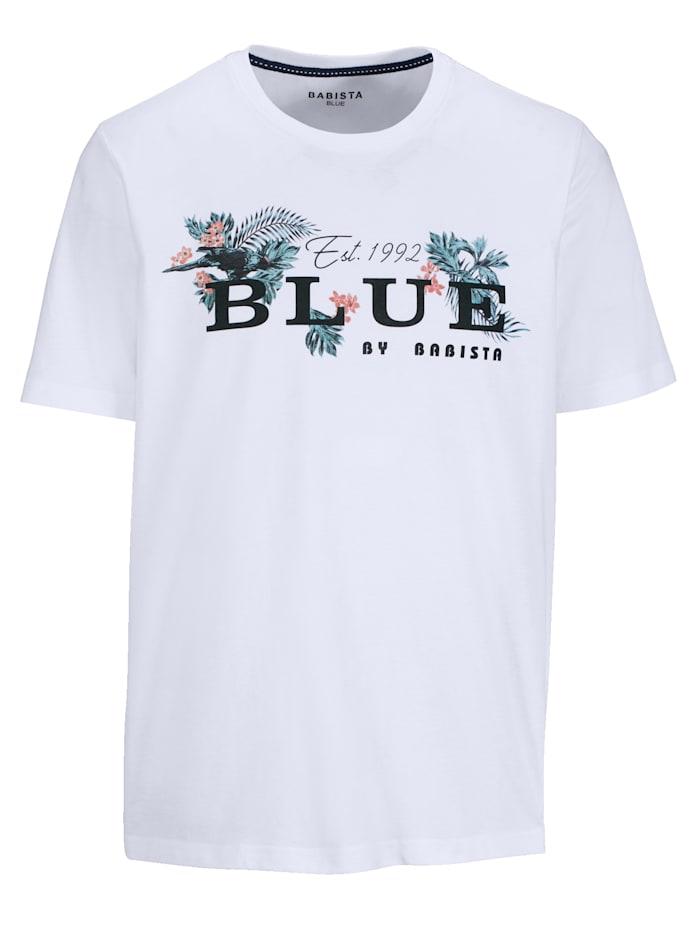BABISTA Printtikuvioitu T-paita, Valkoinen