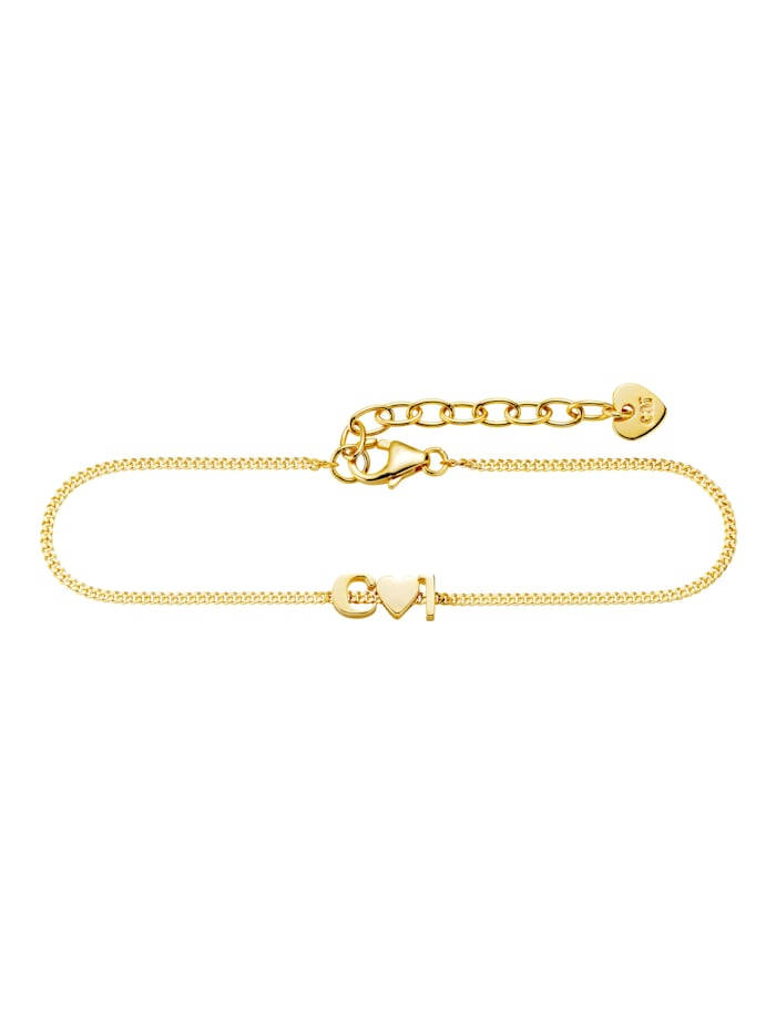 CAI Armband 925/- Sterling Silber 15+3cm Glänzend, gelb