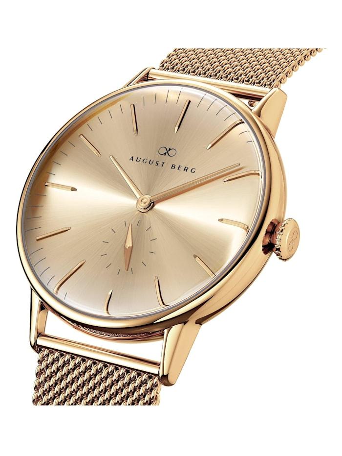 Uhr Serenity Shine Gold Eye Gold Mesh 40mm