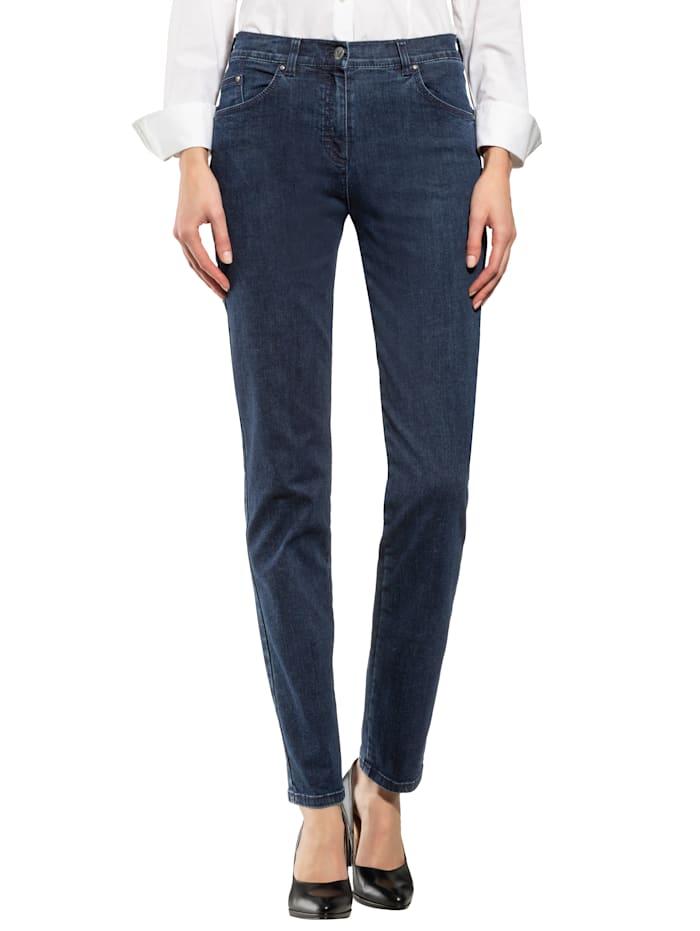 Jeans mit dynamischem Dehnbund