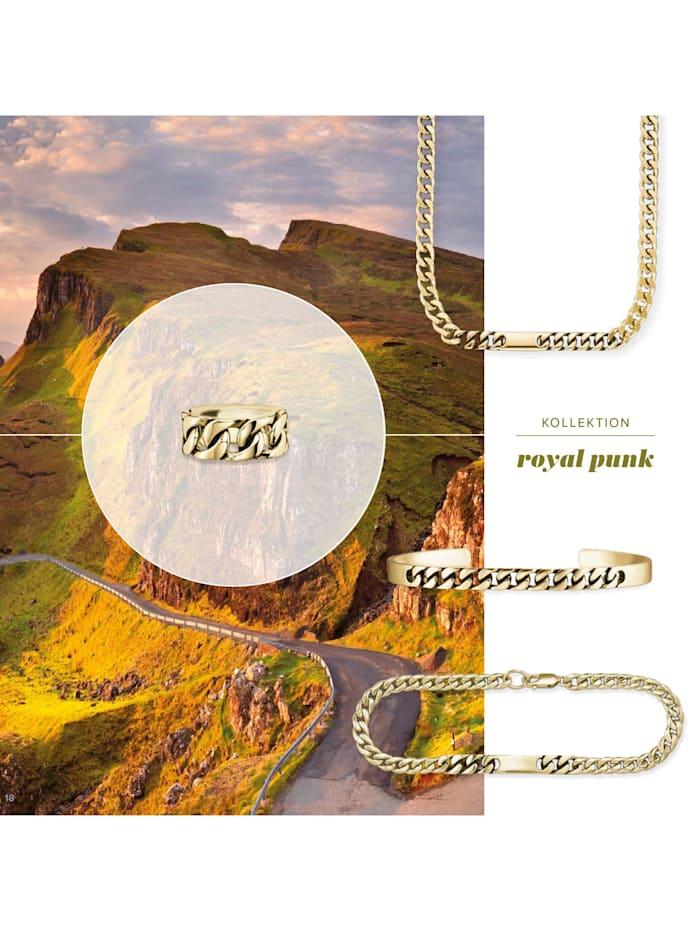 Ring 925/- Sterling Silber ohne Stein vergoldet 925/- Sterling Silber