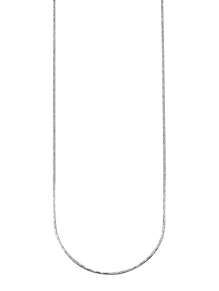 Halsband i ankarlänk, Silverfärgad