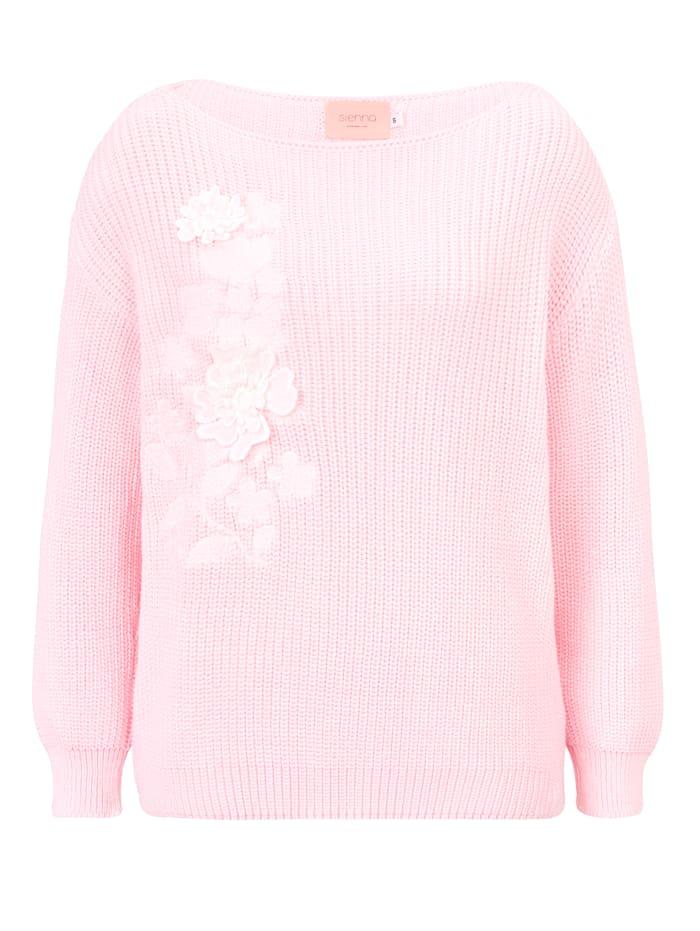 SIENNA Strickpullover, Rosé