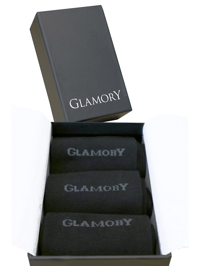 Glamory Socken Freedom Geschenkbox (3 Paar), black