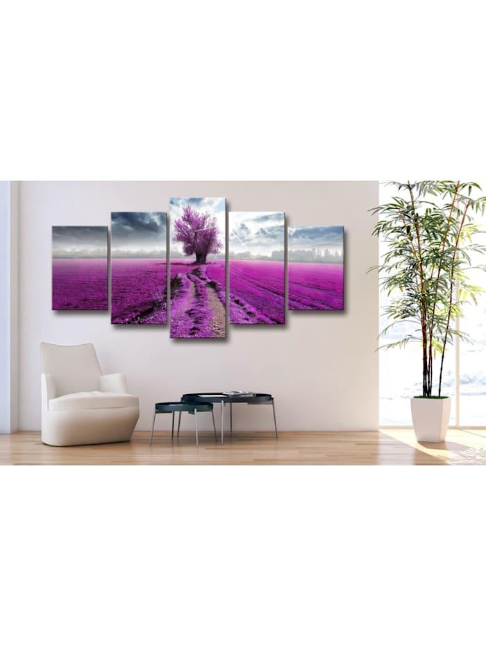Wandbild Purple Land
