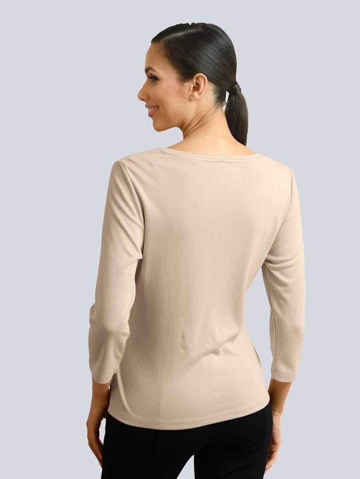 Shirt mit Zier-Bindeband