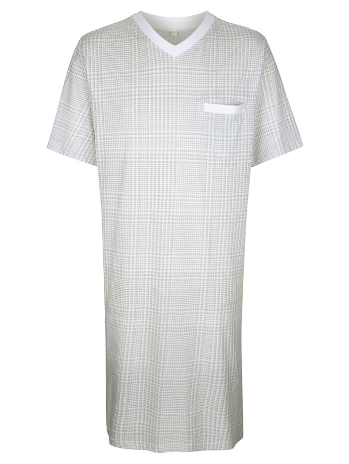 Nachthemden mit seitlichen Schlitzen