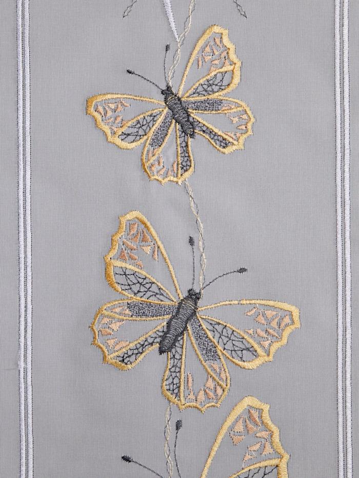 Scheibengardine 'Schmetterling'