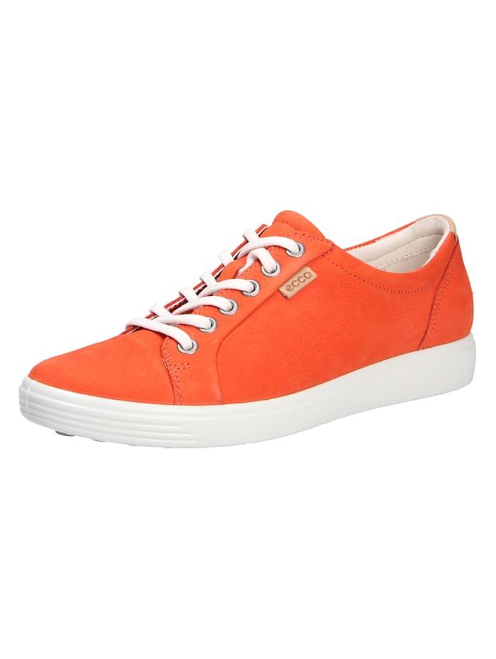 Ecco Schnürschuh, orange