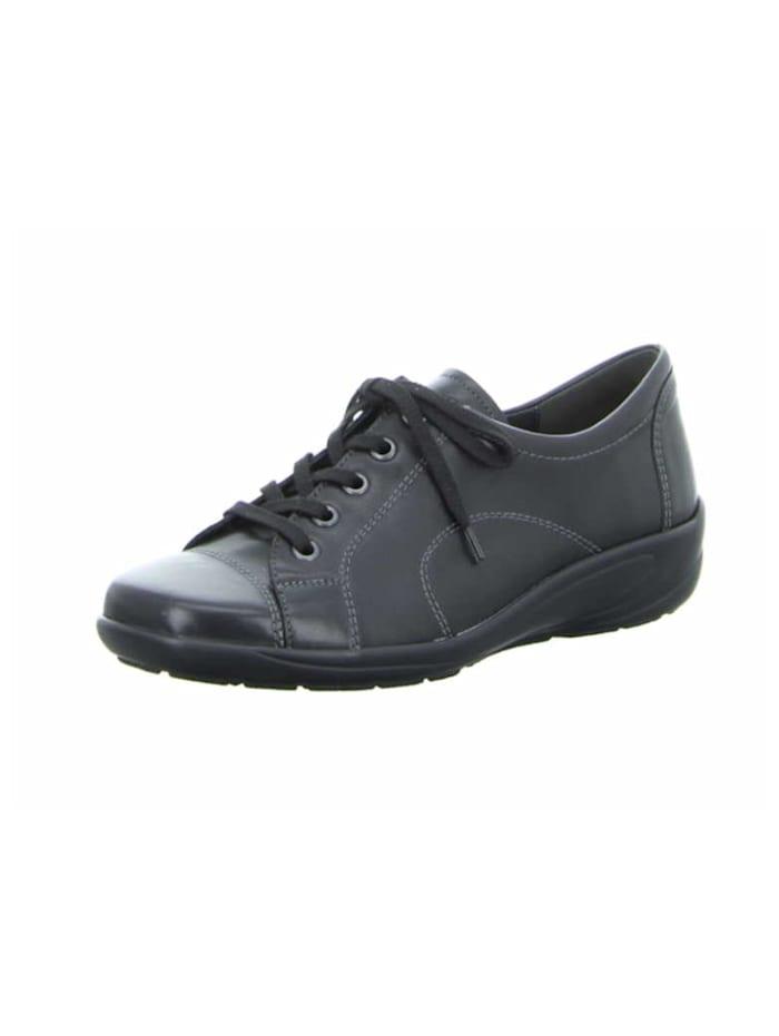 Semler Damen Schnürschuh in schwarz, schwarz