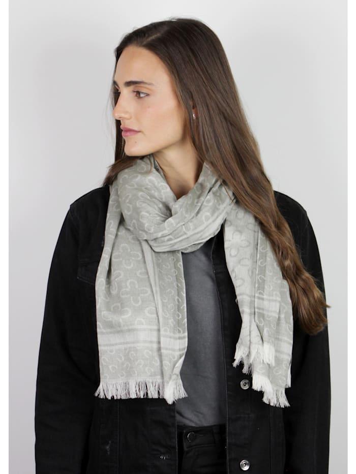 Logo-Schal aus edler Baumwolle