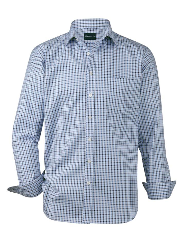Babista Premium Chemise dans une qualité haut de gamme, Bleu/Blanc