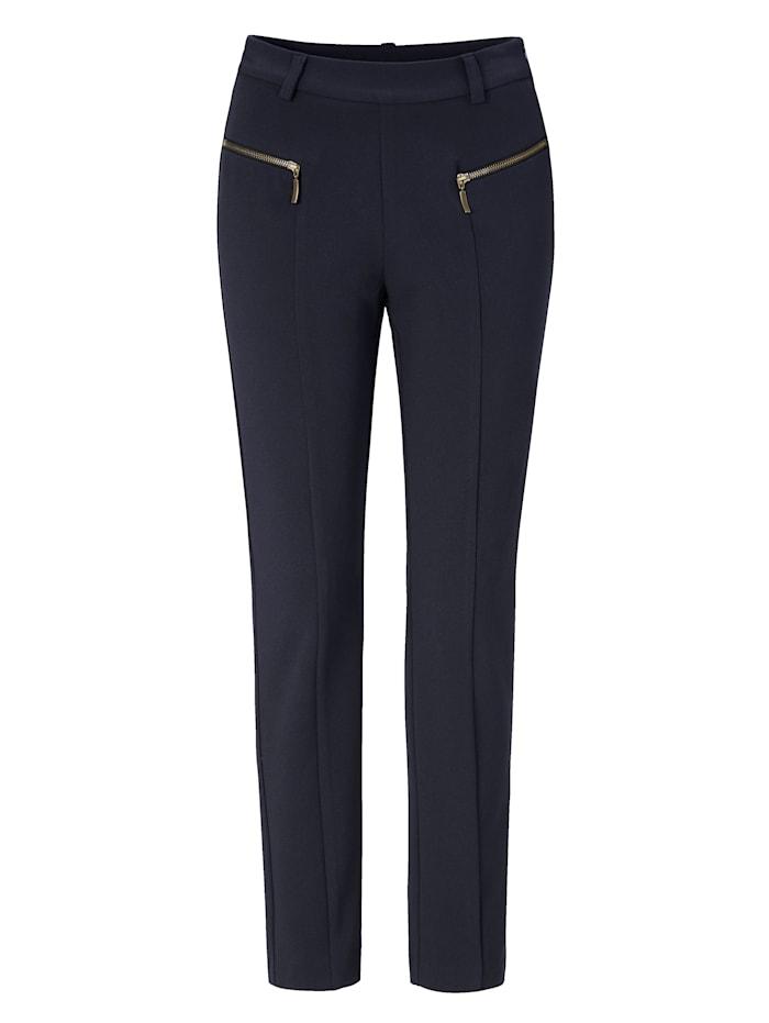 SIENNA Pantalon, Bleu foncé