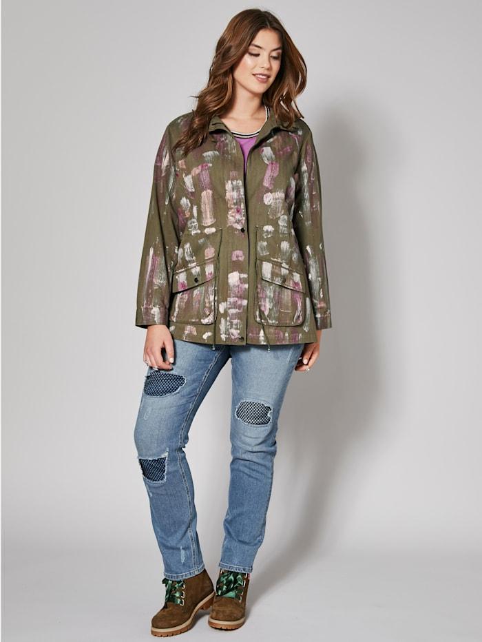 Angel of Style Metallinhohtoinen takki, Khaki