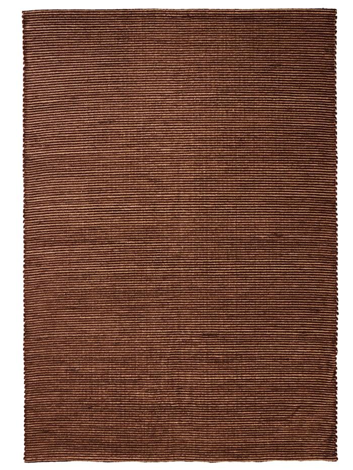 Casamaxx Handwebteppich 'Ike', Braun
