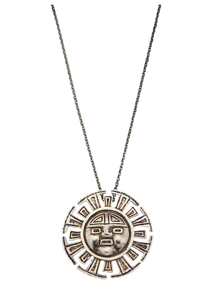 Ursula Christ Pendentif + chaîne 'Maya', Coloris argent