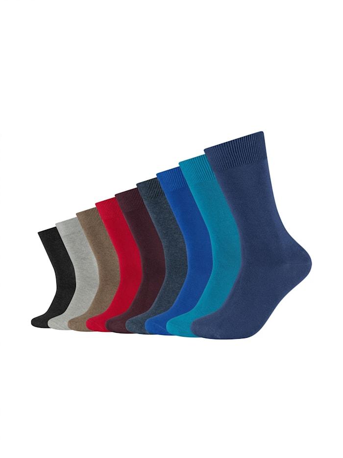 Camano Socken 9er Pack, jeans mix