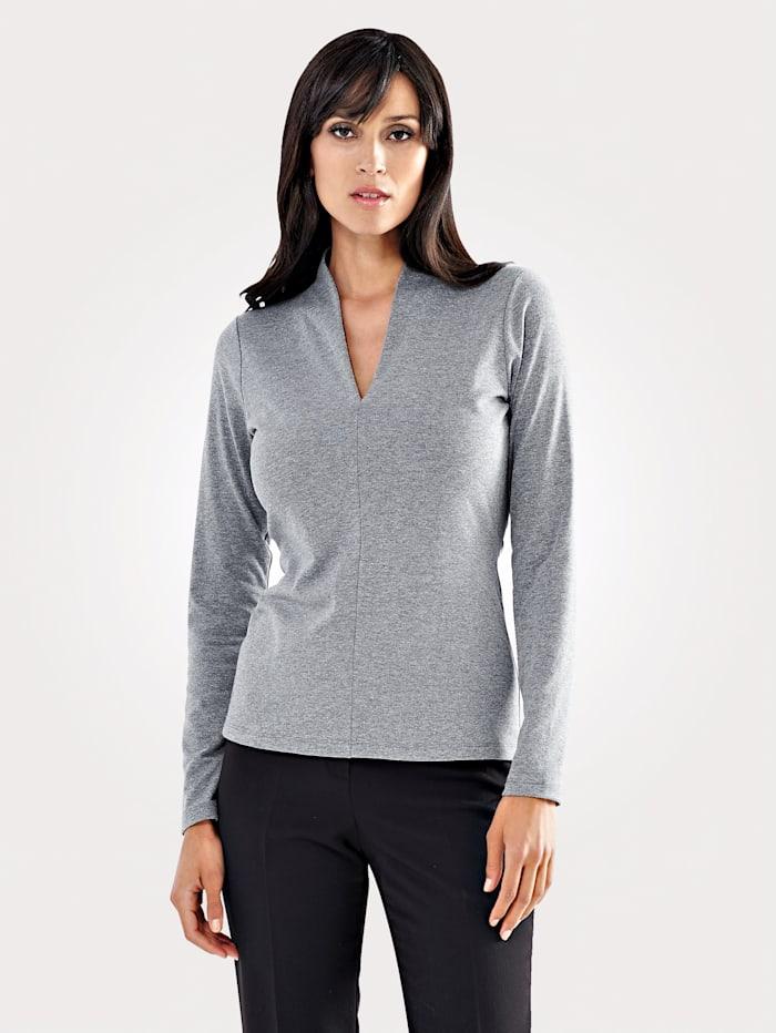 Shirt aus Jersey-Jacquard