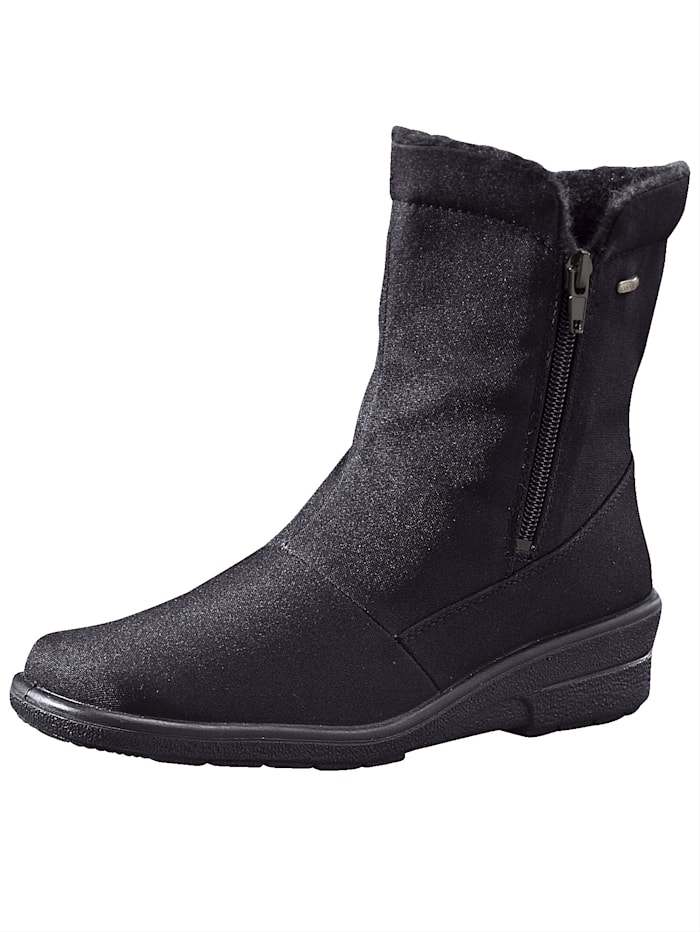 Jenny Ankle boots made from water-resistant fabric, Black