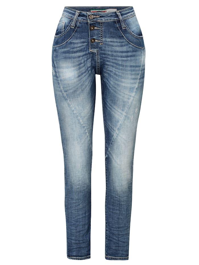 PLEASE Jeans, Jeansblau